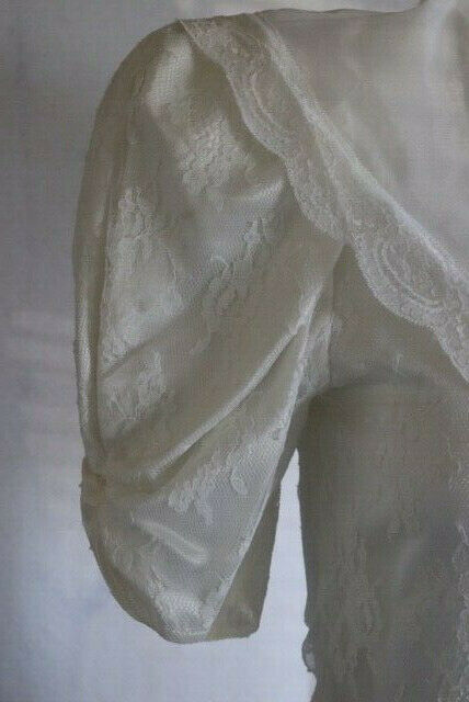 Gunne Sax Ivory Dress Girls Short Sleeve Jessica … - image 8