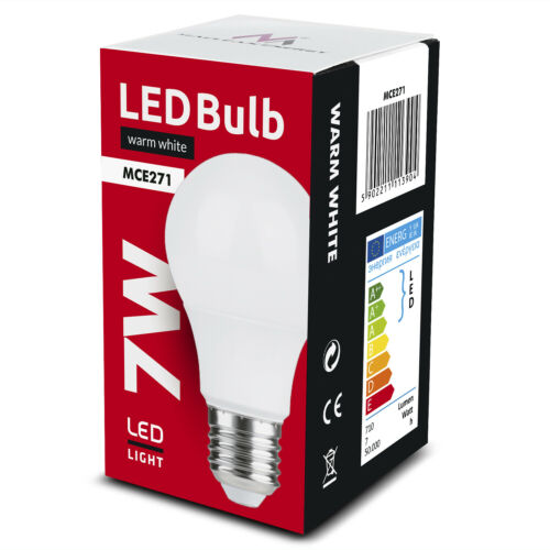 E27 LED Glühbirne Birne Warmweiß 3000K Leuchtmittel Bulb Lampe 5W 7W 9W 12W 15W