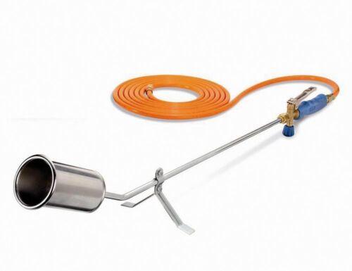 CFH ABFLAMMGERÄT ST 1000-60mm Spezialbrenner  mit Gasschlauch und Ablegeständer