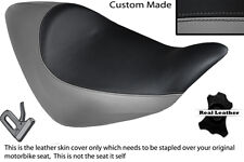 GREY & BLACK CUSTOM FITS HONDA NRX RUNE 1800 SOLO LEATHER SEAT COVER