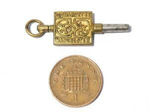 Antique H. Samuels Manchester Metal Pocket Watch Key Winder #WK8