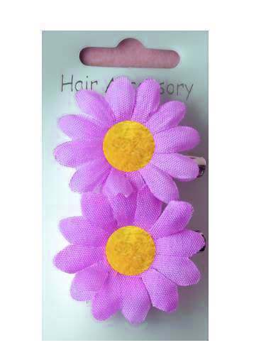 2 Cheveux Marguerite Beak Clips Fleurs Marguerites Boho Festival Floral Vintage slide S64