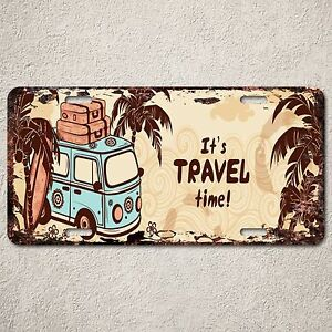 LP0166-Old-Vintage-Travel-Hawaii-Sign-Auto-License-Plate-Home-Store-Gift-Decor