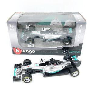 Bburago-Burago-1-43-Mercedes-Benz-Formula-One-F1-Car-Model-1-43-44-Racing-Model