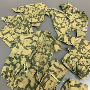 "Details about  /1:6 Desert Infantry Camo Uniform For 12/"" GI Joe BBI Dragon Ultimate Soldier"