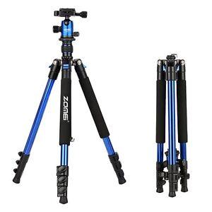 Zomei Q555 63'' Portable Pro Tripod&Ball Head Travel stand for Canon DSLR Camera
