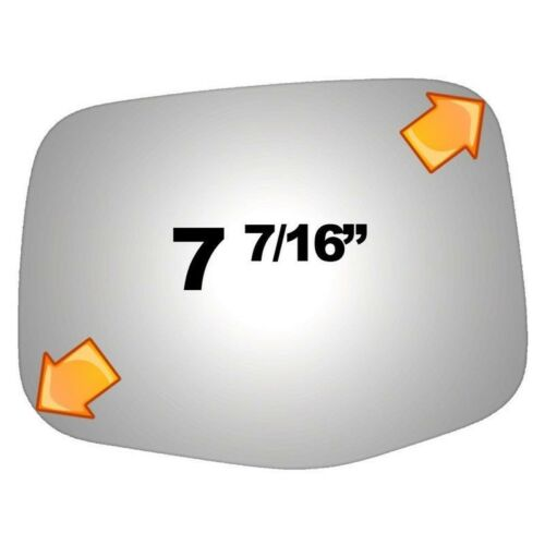 Mirror Glass For 11-13 Honda Odyssey Driver Side Replacement