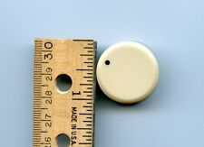 "1 Knob Almond Color  1 1/16"" : diameter  6mm shaft opening for volume or other"