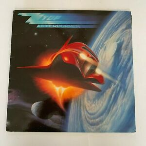 ZZ-Top-Afterburner-1985-Vinyl-LP-Record-Condition-VG