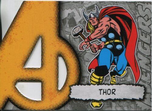 Marvel Beginnings Series 2 Die Cut Chase Card A-38 Thor