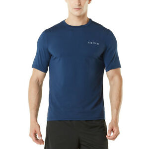 Tesla MTS04 HyperDri Short Sleeve Athletic T-Shirt - Solid Navy