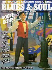 Elbow Bones & Racketeers Blues & Soul Issue 400 1984  Nina Simone  Jackie Wilson