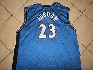 ebe766627 Image is loading MICHAEL-JORDAN-23-WASHINGTON-WIZARDS-JERSEY-Champion- Basketball-