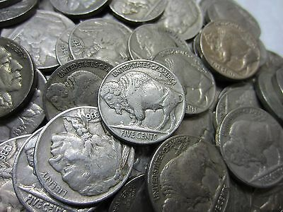 Mixed Liberty V Nickel Roll //// Good //// 40 Coins 40 BONUS