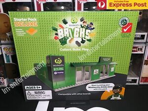WOOLWORTHS BRICKS STARTER DELUXE PACK KIT - LEGO COMPATIBLE COLLECTABLES NEW