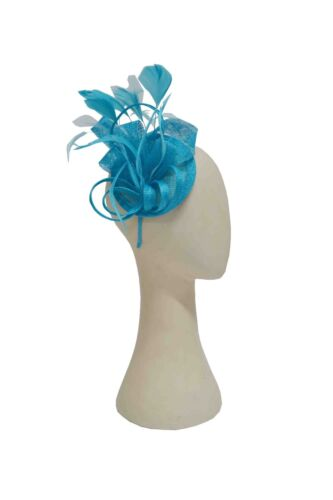 Sinmay Pillbox With Feather Fascinator