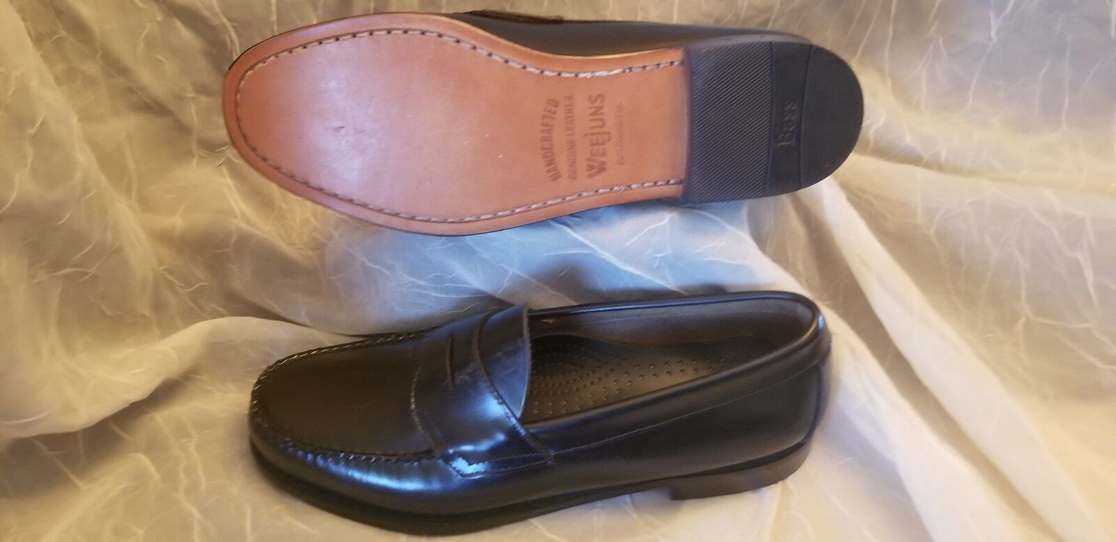 autentico online BRAND NEW Weejuns G.H. Bass Co. Genuine Leather, penny loafer, loafer, loafer, Dimensione 10 1  2  marca