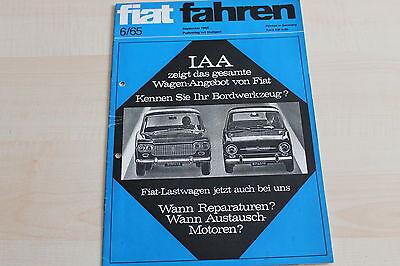 Süß GehäRtet 149025 Iaa Fiat Fahren 06/1965 Fiat Modellprogramm