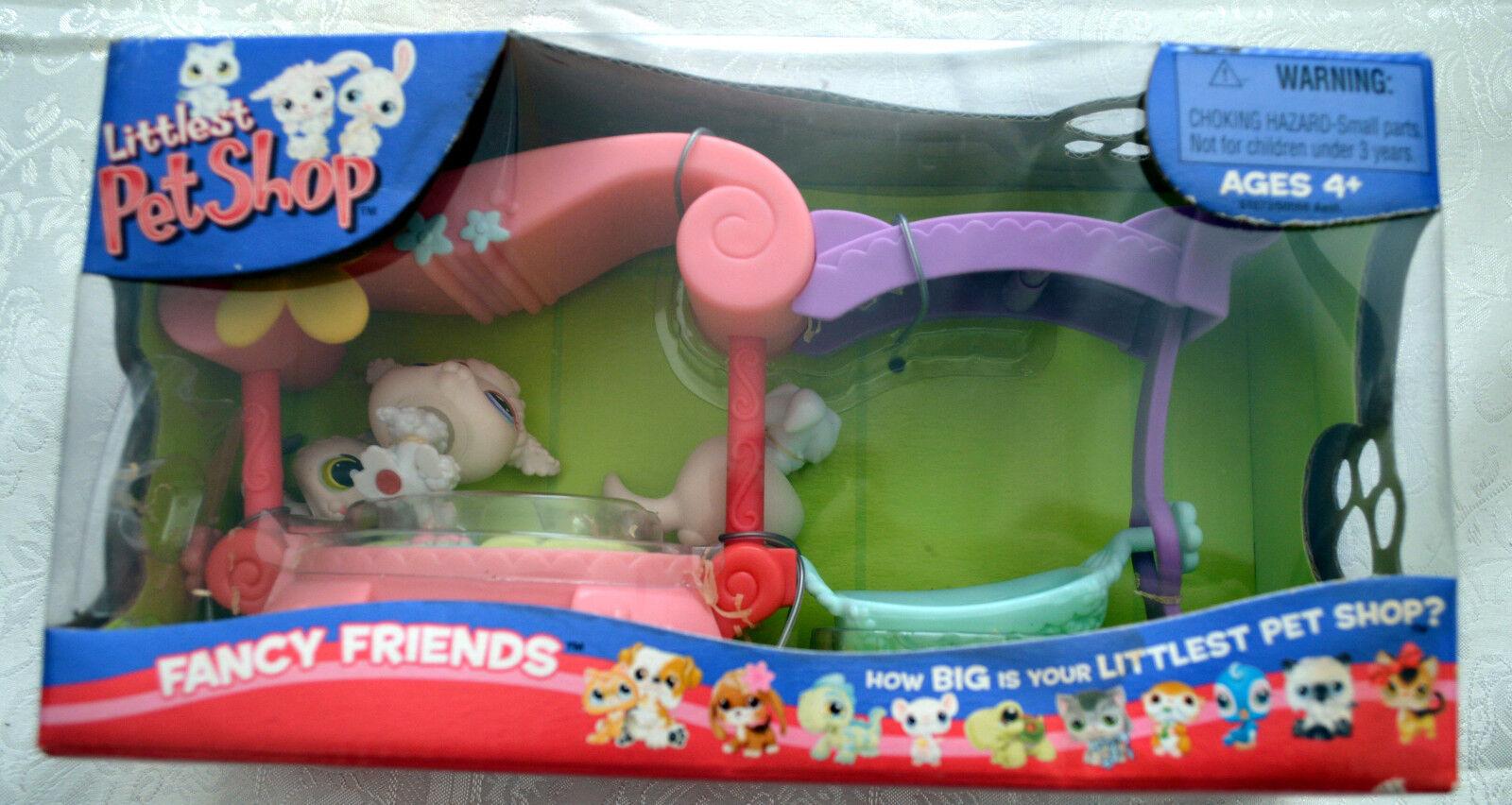 Littlest Pet Shop LPS  99  100  101 FANCY FRIENDS Playset VHTF Generation 1 2005