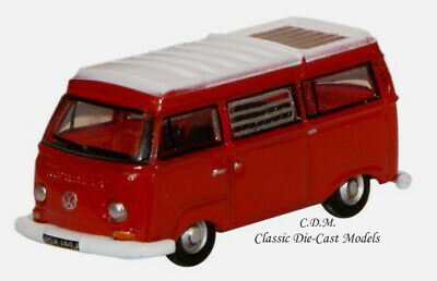Oxford 76VW010 VW T2 Pick Up White 1//76 New Boxed T48 Post
