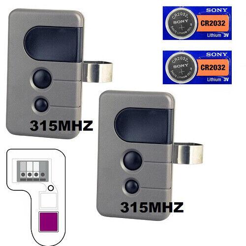 Sears Craftsman Mini 3 Button Garage Opener 139 53758 Red Led Remote For Sale Online Ebay