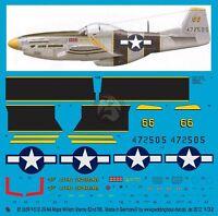 Peddinghaus 1/32 P-51d-20na Mustang the Flying Undertaker William Shomo 2659