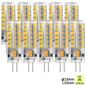 sunix g4 5w stiftsockel led lampe leuchtmittel dimmbar ac dc 12v warmwei wei ebay. Black Bedroom Furniture Sets. Home Design Ideas