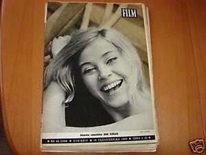 Ana Szeles front cover Polish mag FILM 1969 - Swietoslaw, Polska - Ana Szeles front cover Polish mag FILM 1969 - Swietoslaw, Polska