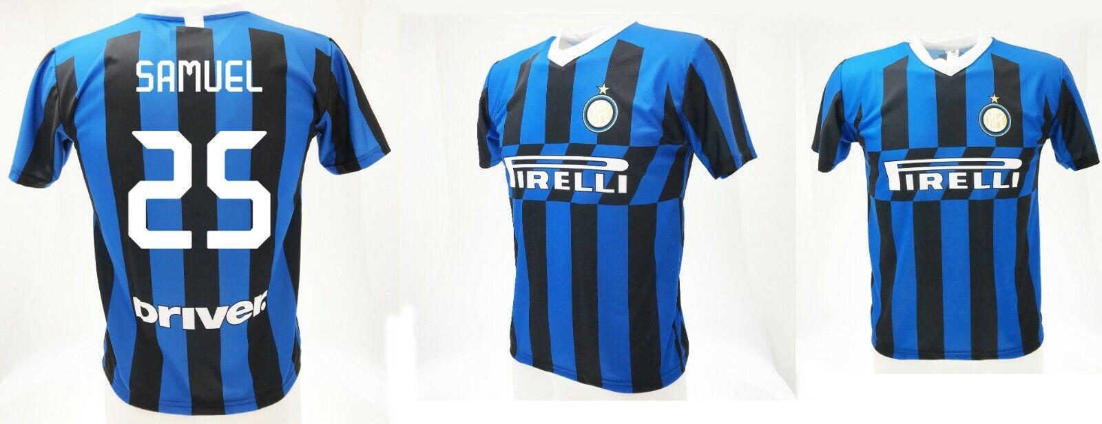 Camiseta Samuel Inter  2020 Producto Oficial Uniforme Oficial 2019 Teórica 25  costo real