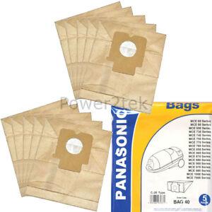 Per Panasonic MCE7101 Sacchetti Per Aspirapolvere X5