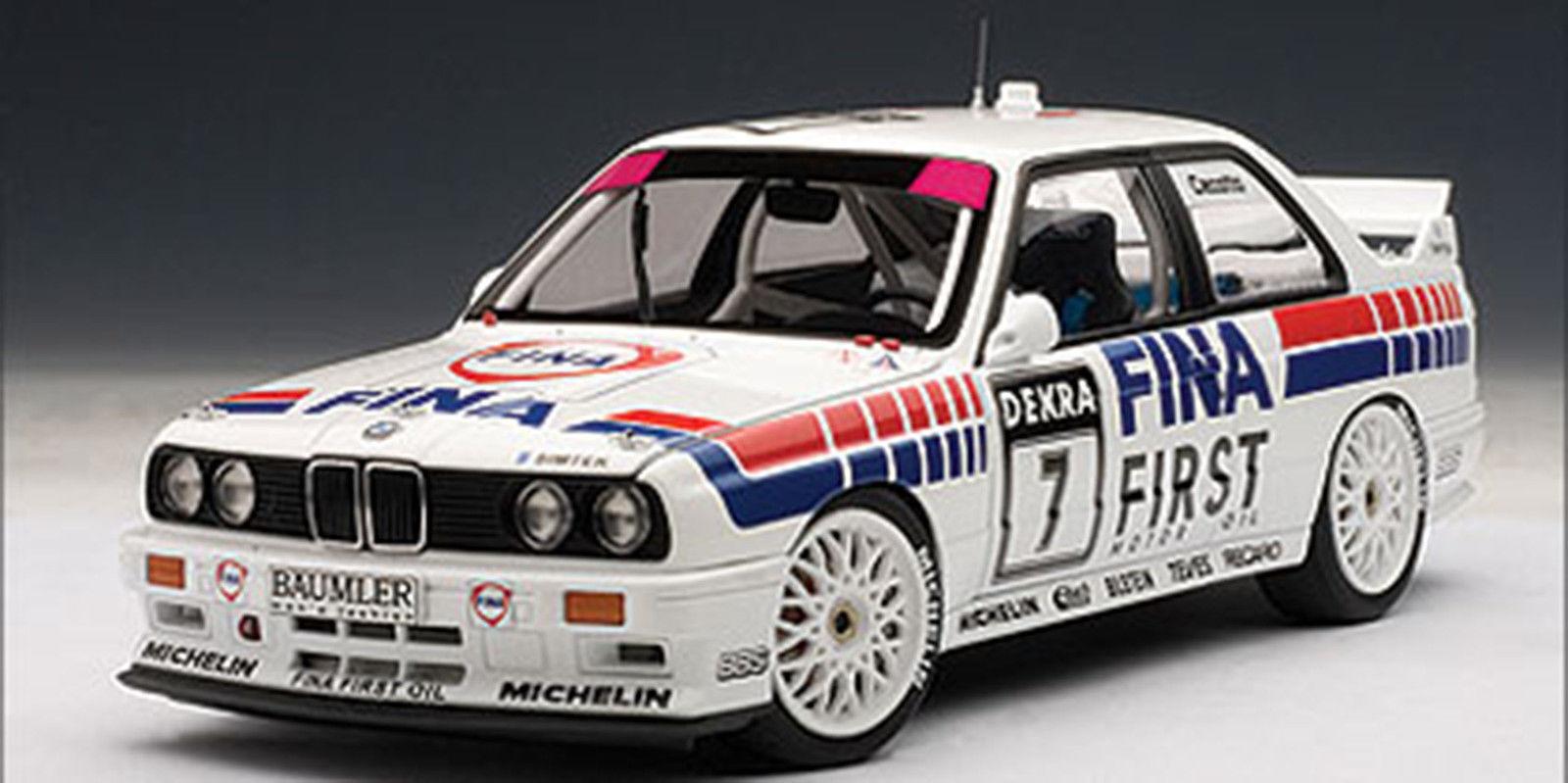 AUTOART 1992 BMW M3 DTM  FINA  CECOTTO  7 1 18New ReleaseSuper Hot