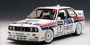 AUTOART-1992-BMW-M3-DTM-034-FINA-034-CECOTTO-7-1-18-New-Release-Super-Hot