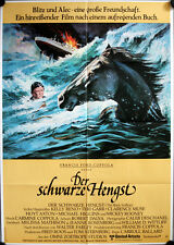 Der Schwarze Hengst Filmposter A1 Black Stallion Kelly Reno, Mickey Rooney