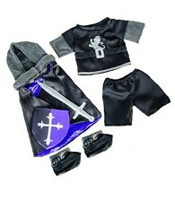 """Gallant Medieval Knight costume outfit teddy clothes to fit 15"""" build a bear"""