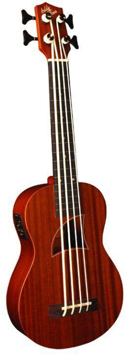 Acoustic Electric Ukulele Bass Eddy Finn