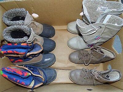 Kinder Winter Schuhe-10 Paar im SET Größe 30-39- für Wiederverkäufer- KWS-34-004
