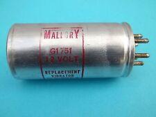 Vibrator for radio Tubes G1751, 12 Volt, Mallory