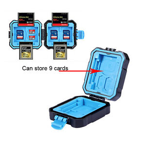 Camera Memory Card Storage XQD CF SD TF Waterproof Protecter Case Box