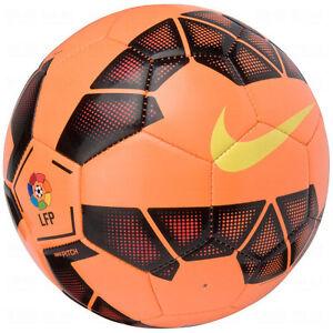 Idealmente Municipios siga adelante  NIKE T90 Total 90 LEAGUE LFP Soccer Ball 2014 NEW Orange /Black/Yellow Size  3   eBay