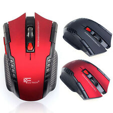 2.4GHz 3200DPI Adjustable Wireless Gaming Mouse 6 Buttons For Computer PC Laptop