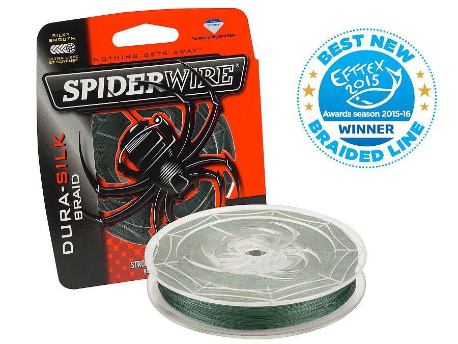 Spiderwire Dura Silk Green   270m   braided line   filo da pesca trecciato