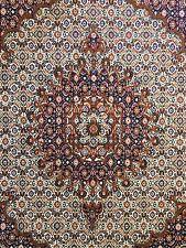 Tremendous Tabriz - 1960s Antique Persian Rug - Herati Floral - 6.4 x 7 ft.