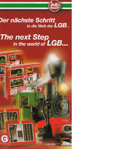LGB G SCALE NEXT STEP COLLECTOR'S BROCHURE | NOS | TMS-1121
