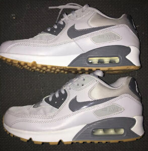 Details about Nike Air Max 90 Essential Wolf Grey/Pure Platinum 616730-024 Women's Size 7.5