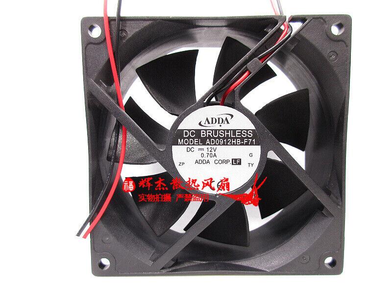 1PC ADDA AD0912HB-F71 12V 0.70A ultra-high speed DC cooling fan