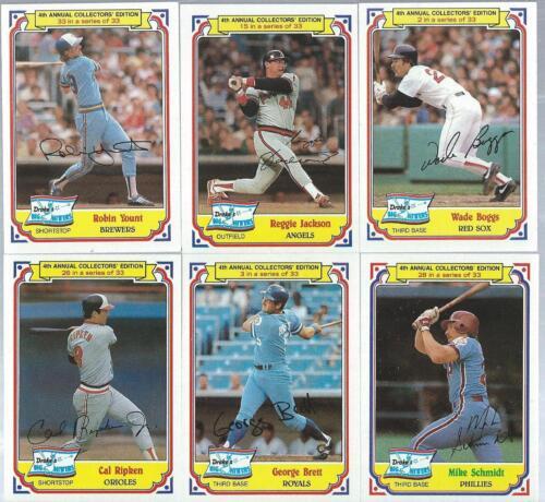 1859 Reggie Jackson  1984 Drakes Big Hitters
