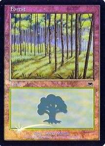 Foil New MTG Onslaught Magic Forest 350