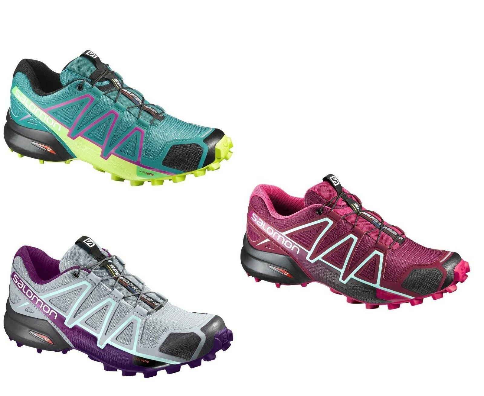 shoes TRAIL RUNNING women SALOMON SPEEDCROSS 4 W Vari colori