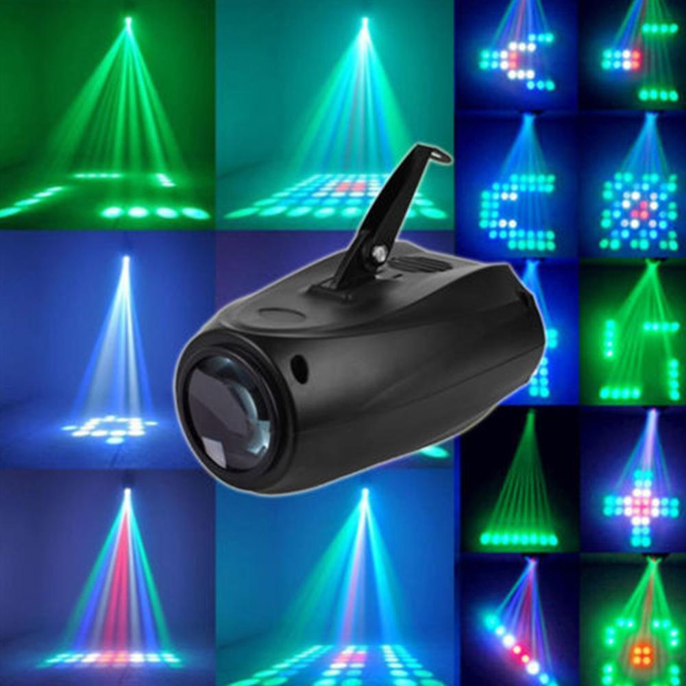 (Eu) Heim Audio-Control 64 Led Rgbw Lichter Dekorativ Magisch Muster Farbe