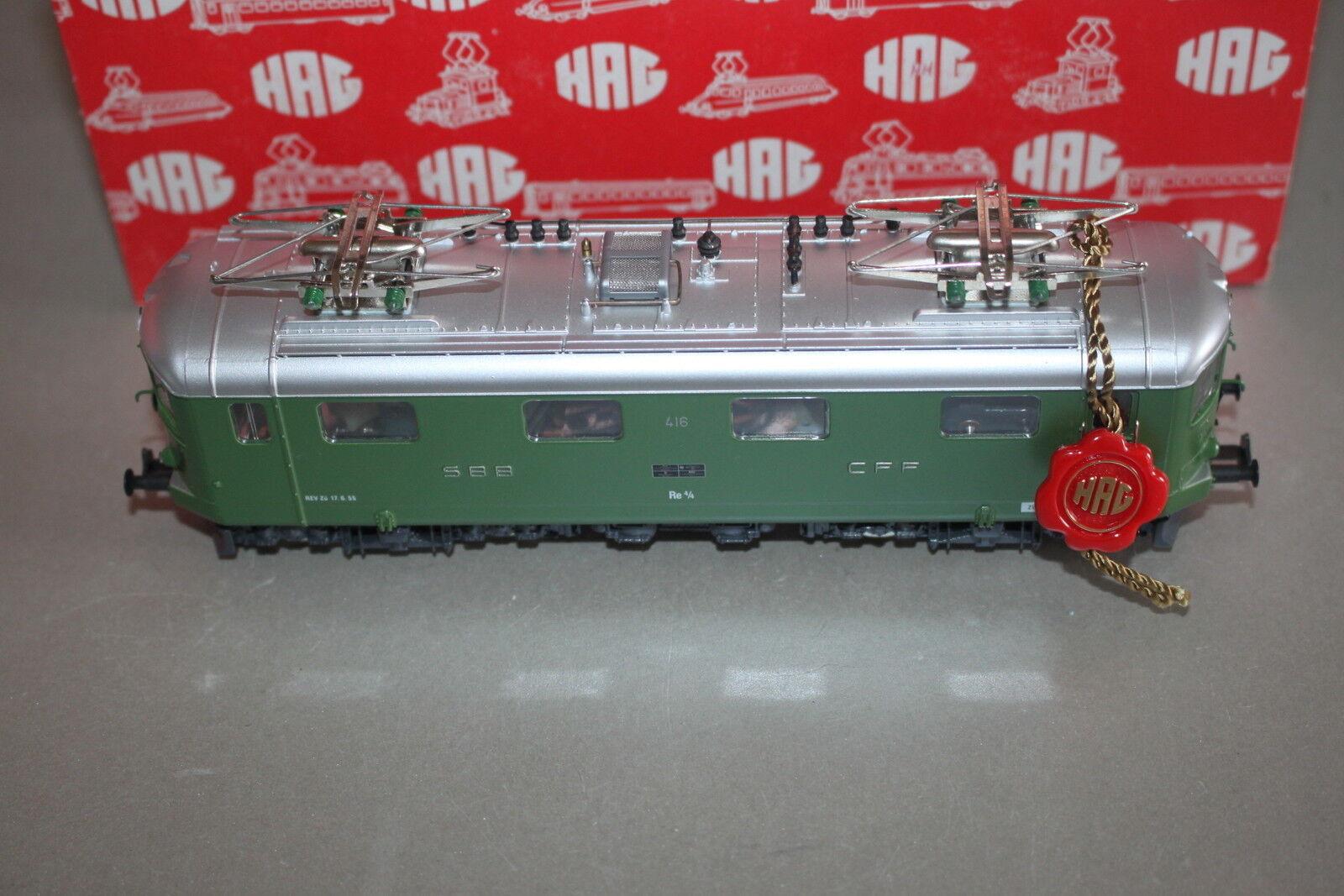 HAG 235 elok re 4 4 serie i Linden verde corrente alternata traccia h0 OVP
